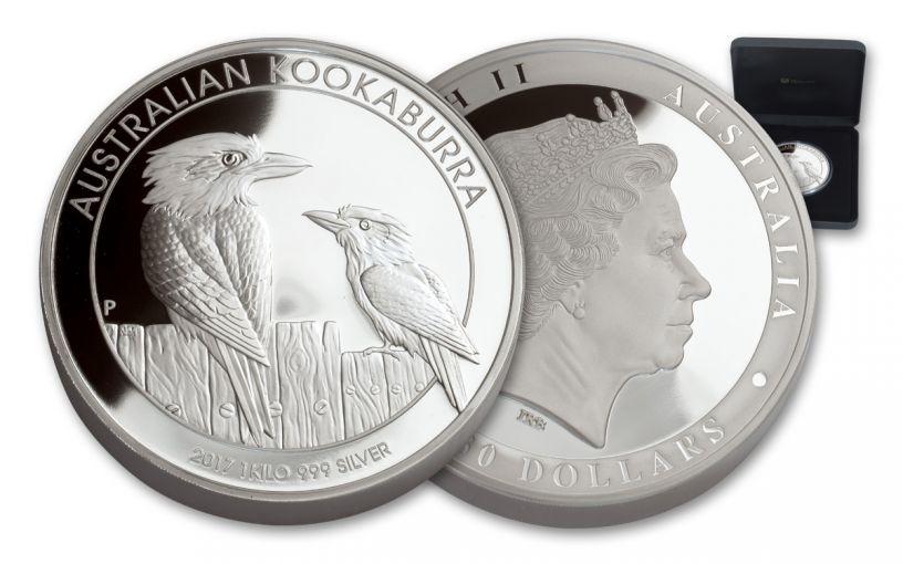 2017 Australia Kilo Silver Kookaburra Proof
