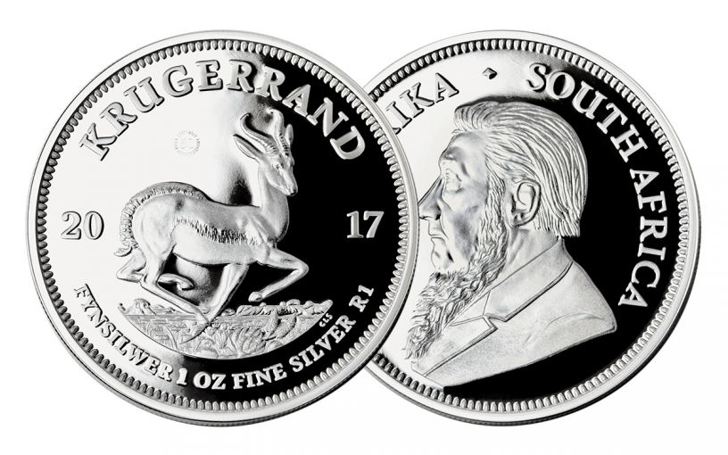 2017 South Africa 1-oz Silver Krugerrand Proof