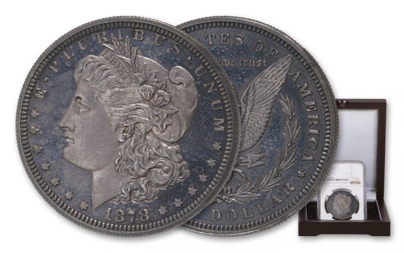 1878 Silver Morgan Dollar Pattern Judd-1550a NGC PF65