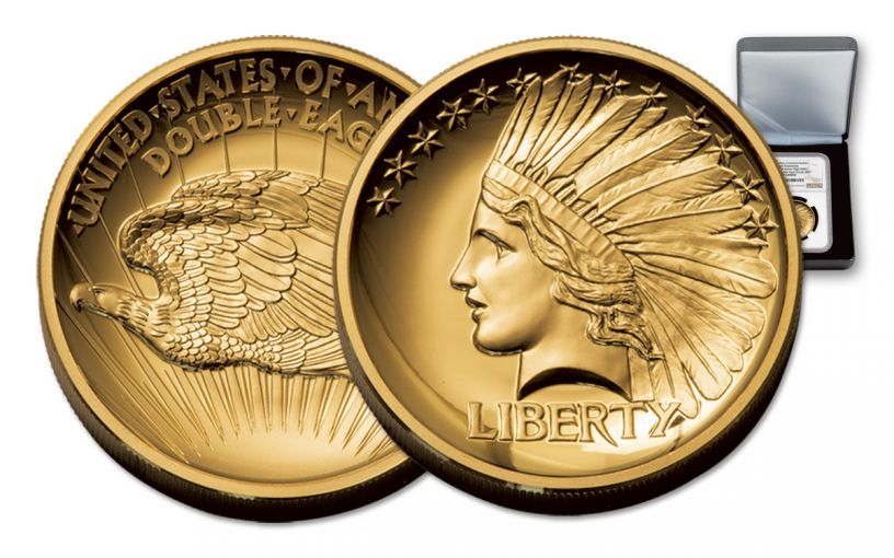 2017 1-oz Gold Double Eagle Indian High Relief NGC PF70UCAM