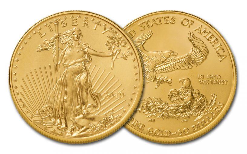 2019 $50 1-oz Gold American Eagle BU