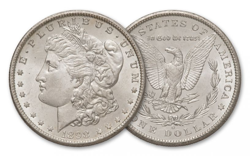 1898-O Morgan Silver Dollar BU