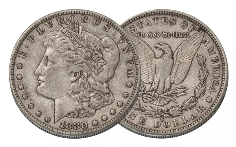 1880-S MORGAN DOLLAR XF