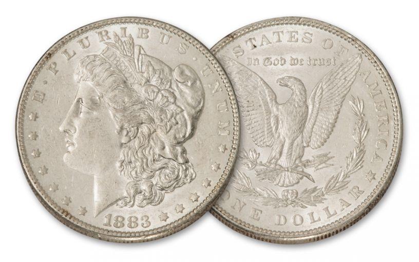 1883-P Morgan Silver Dollar BU