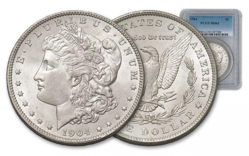 1904-P Morgan Silver Dollar PCGS MS63