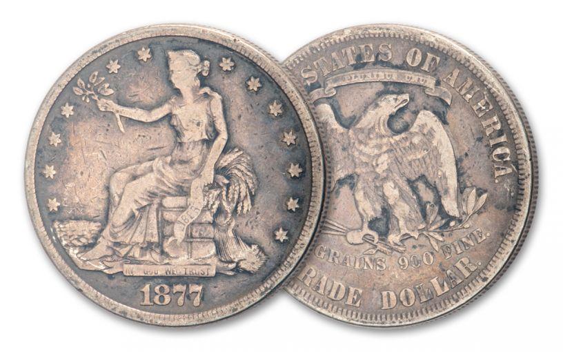 1873–1878 U.S. Silver Trade Dollar Good