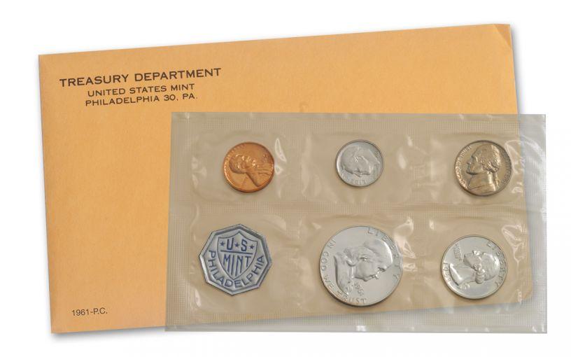 1961 U.S. Proof Set Sealed