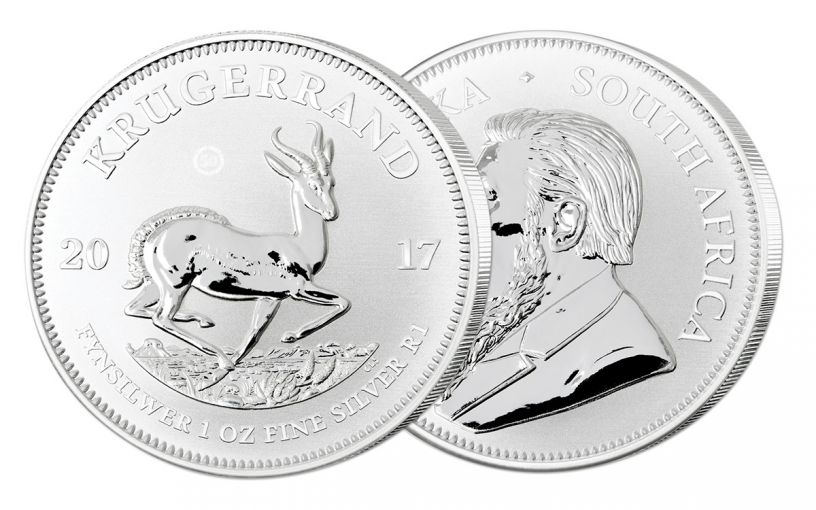 2017 South Africa Silver Krugerrand Premium Uncirculated