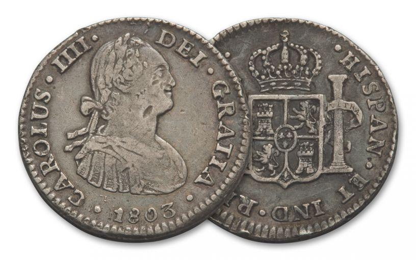 1772-1825 Spain 1 Real VF