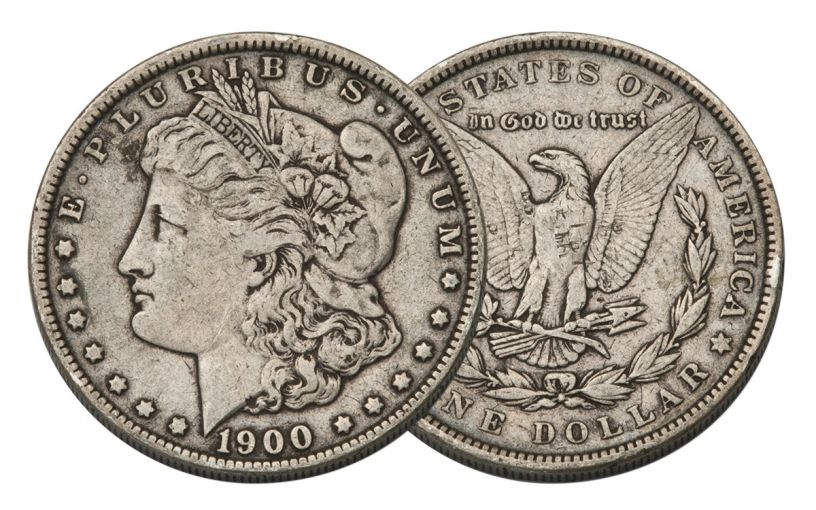 1900-P Morgan Silver Dollar VF
