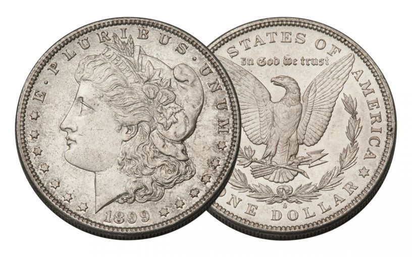 1899-S Morgan Silver Dollar BU