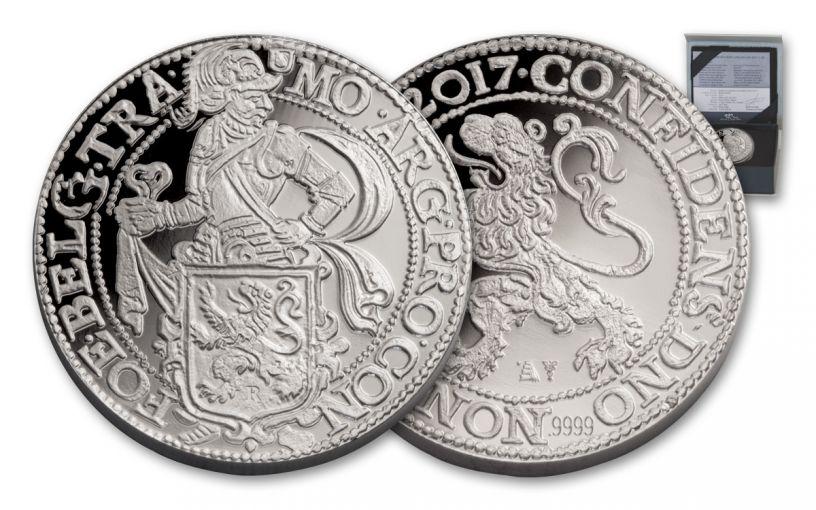 2017 Dutch 1-oz Silver Lion Dollar Proof