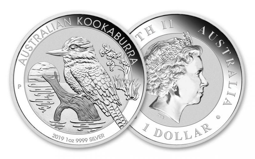 AUS 2019 $1 1-OZ SILVER KOOKABURRA BU
