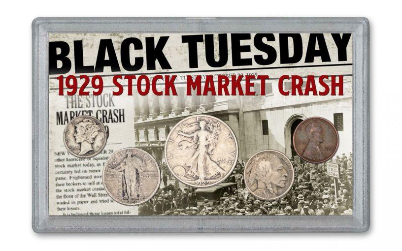 1929 Stock Market Crash 5-piece Set VG