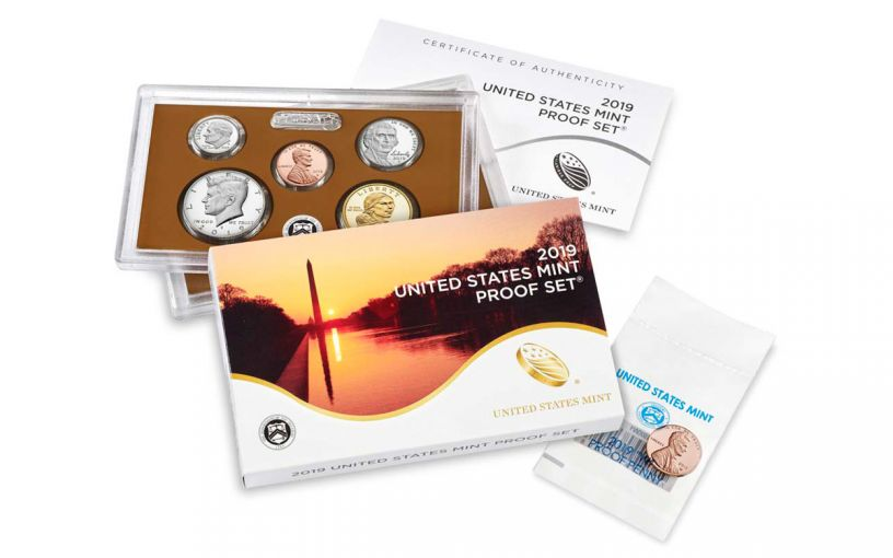 2019-S United States Proof Set