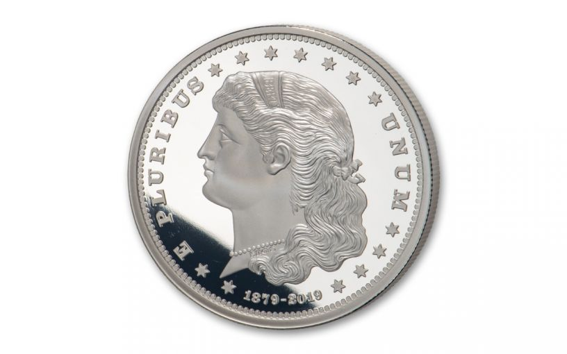 1879–2019 Smithsonian 1-oz Silver Morgan Schoolgirl Dollar Proof