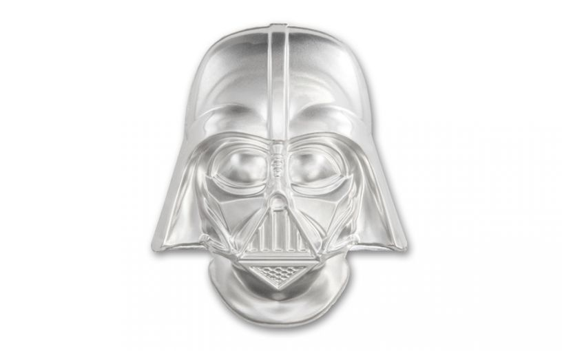 2019 Niue $20 2-oz Silver Darth Vader Helmet Coin