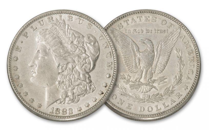 1882-P Morgan Silver Dollar BU