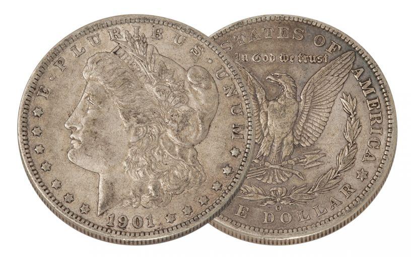 1901-O Morgan Silver Dollar XF