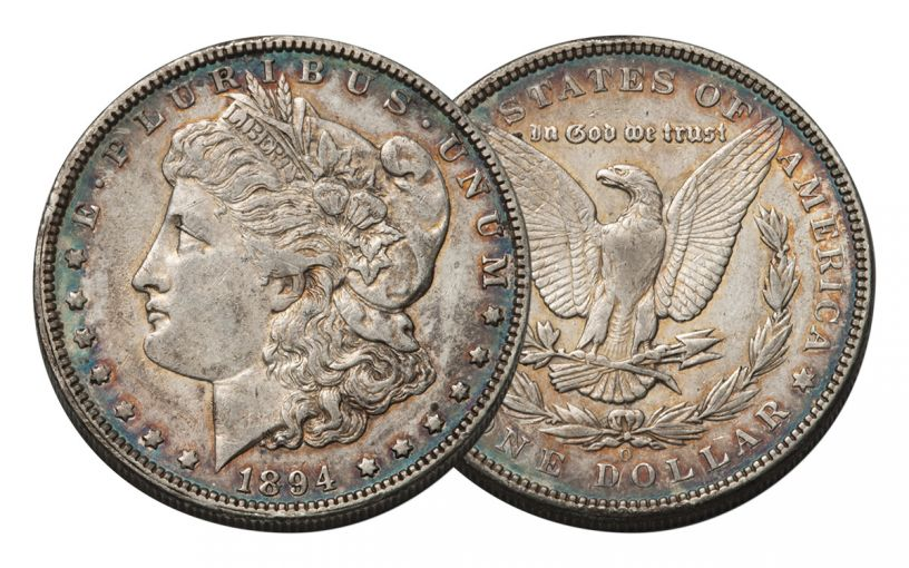 1894-O Morgan Silver Dollar XF