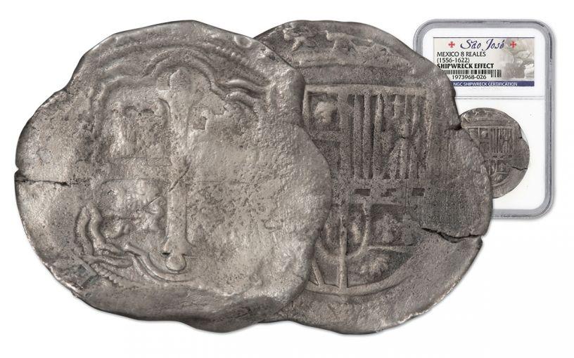 Sao Jose Shipwreck Treasure 8 Reale Coin