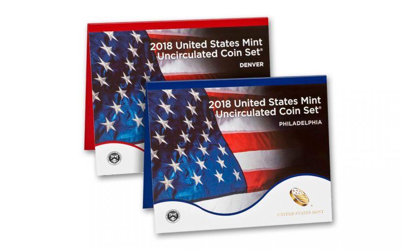 2018 United States Mint Set