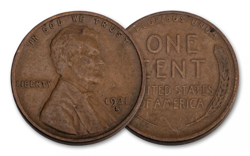 1931-S Lincoln Cent VF