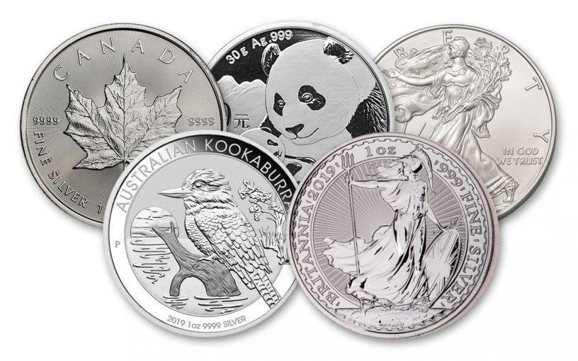 2018-2019 Silver World Coin 5-Piece BU Starter Set