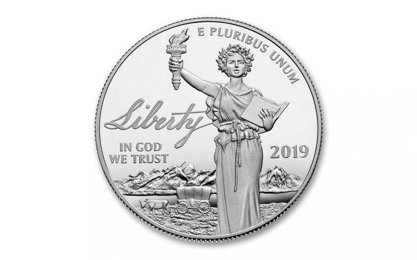2019-W $100 Platinum Eagle 1-oz Liberty Proof