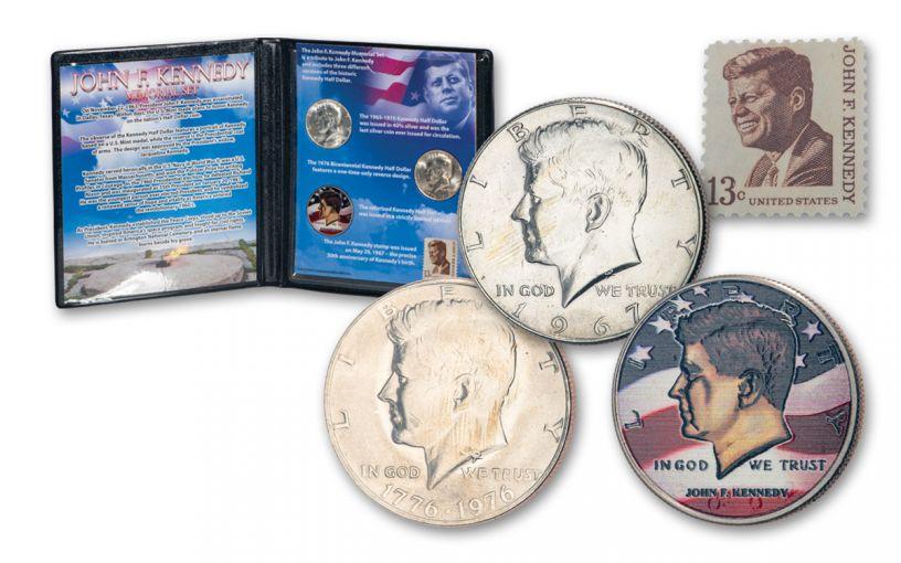 John F. Kennedy Memorial Set