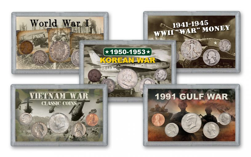 1915-1991 U.S. Wars of the 20th Century 25-pc Collection