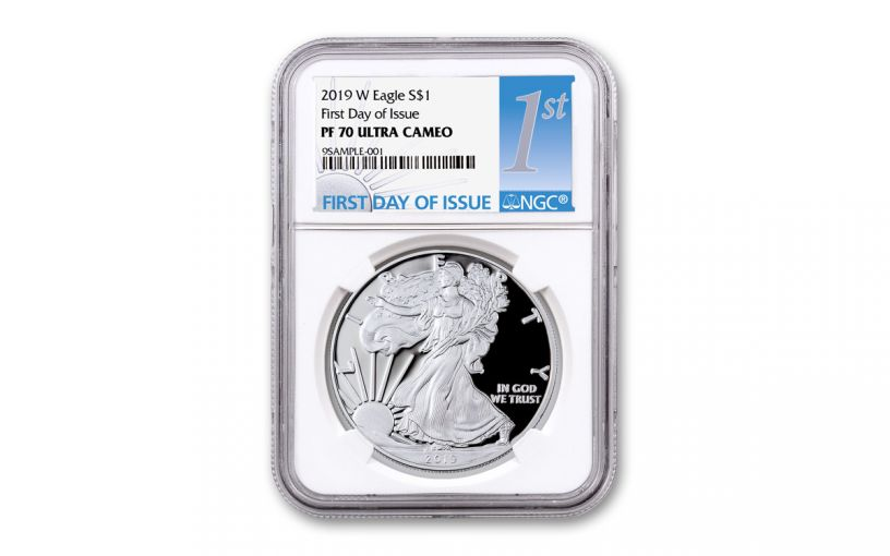 2019-S $1 Silver Eagle NGC PF70UC First Day of Issue