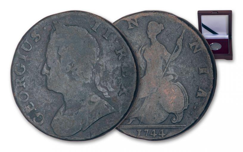 1727–1760 Great Britain George II Half Penny