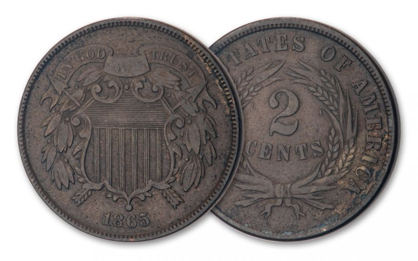 1864–1872 Two-Cent Piece VF