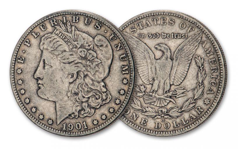 1901-O Morgan Silver Dollar VF