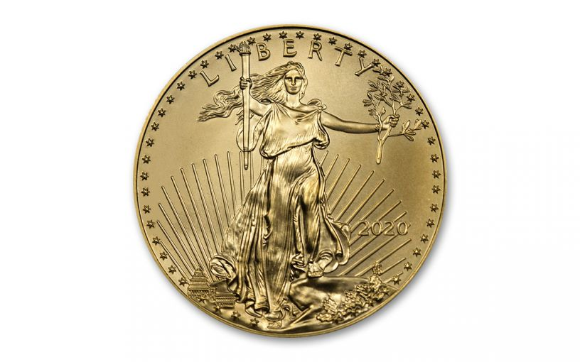2020 $10 1/4-oz Gold American Eagle BU