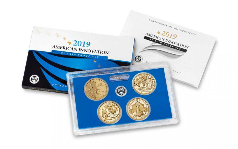 2019-S $1 American Innovation 4-pc Proof Set