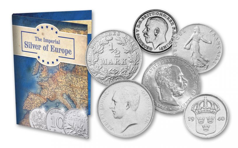 Imperial Silver of Europe 10-pc Set