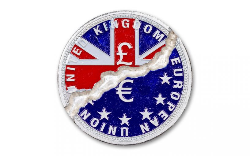 2020 Liberia $10 1-oz Silver Break-It Brexit Proof