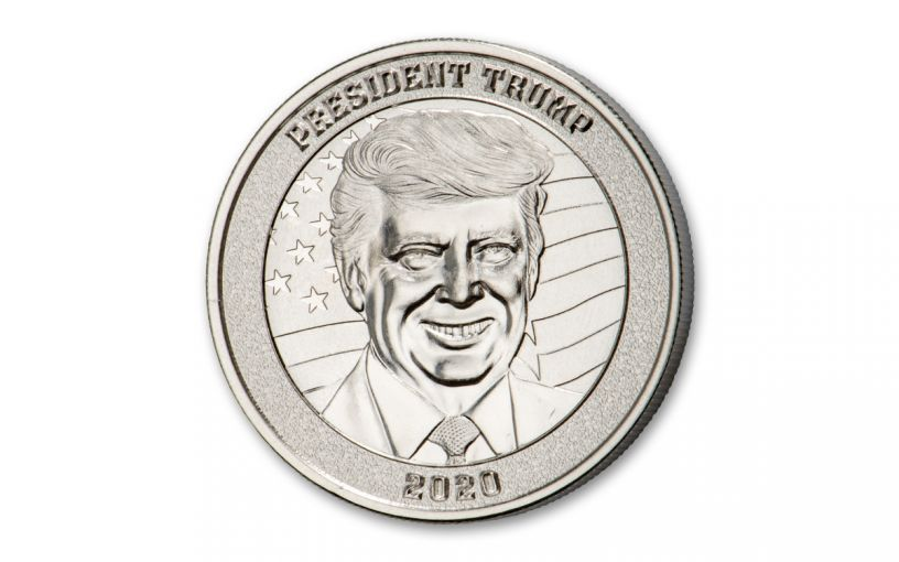 2020 1-oz Silver Donald Trump Acquittal Medal