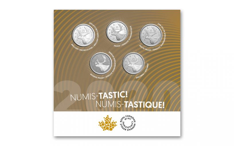 2020 CN NUMIS-TASTIC MULTI-FINISH 5-QUARTER SET