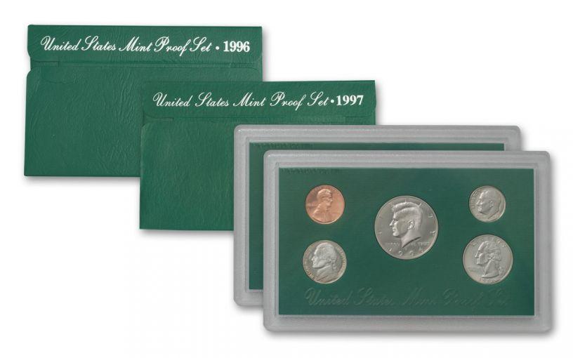 1996 & 1997 U.S. Proof Sets