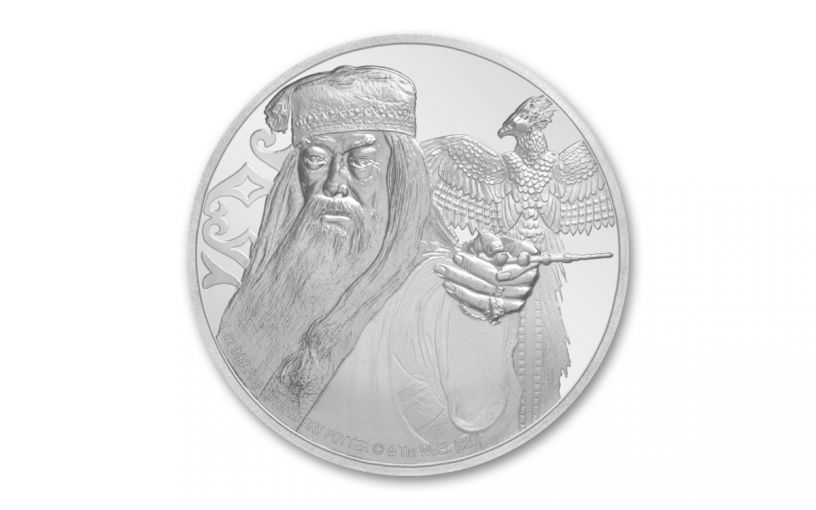 2020 Niue $2 1-oz Silver Harry Potter Dumbledore Proof
