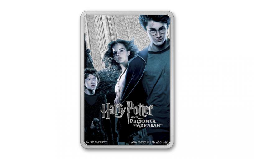 2020 Niue Disney Harry Potter Posters - Prisoner of Azkaban 1 oz Silver Colorized Proof $2 Coin GEM Proof OGP