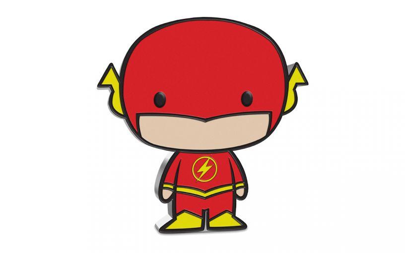 2020 Niue $2 1-oz DC Comics Chibi Flash Colorized Proof