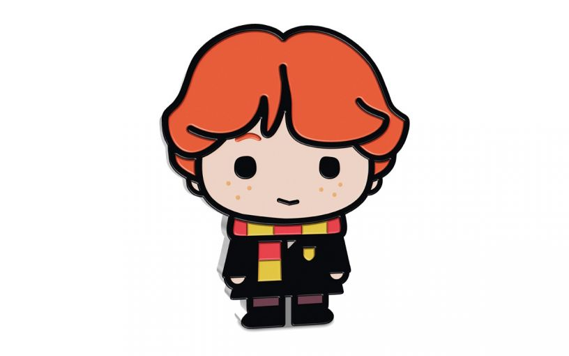 2020 Niue $2 1 oz Silver Harry Potter Chibi - Ron Weasley Colorized Proof Coin GEM Proof OGP