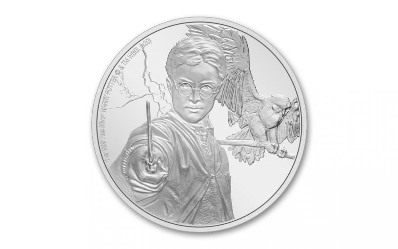 2020 Niue $2 1 oz Silver Harry Potter Classics - Harry Potter Proof Coin GEM Proof OGP