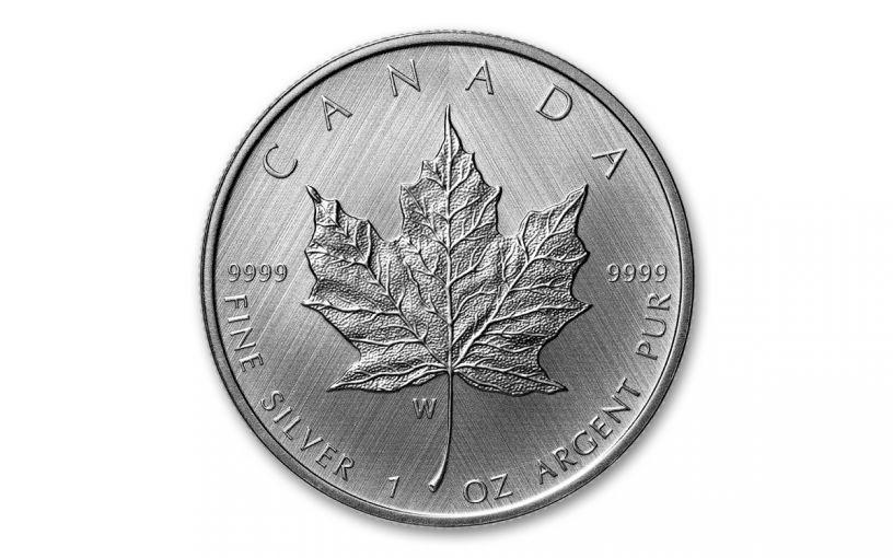 2021-W Canada $5 1-oz Silver Maple Leaf Tailored Specimen Gem BU