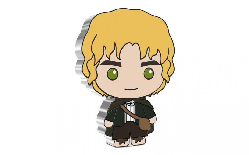 2021 Niue $2 1-oz Lord of the Rings™ Chibi Samwise Gamgee Colorized Gem Proof