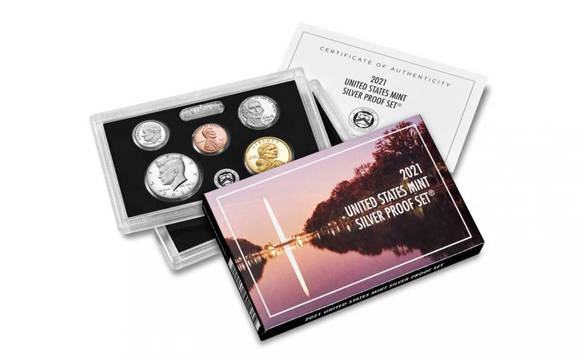 2021-S UNITED STATES SILVER PROOF SET W/ OGP